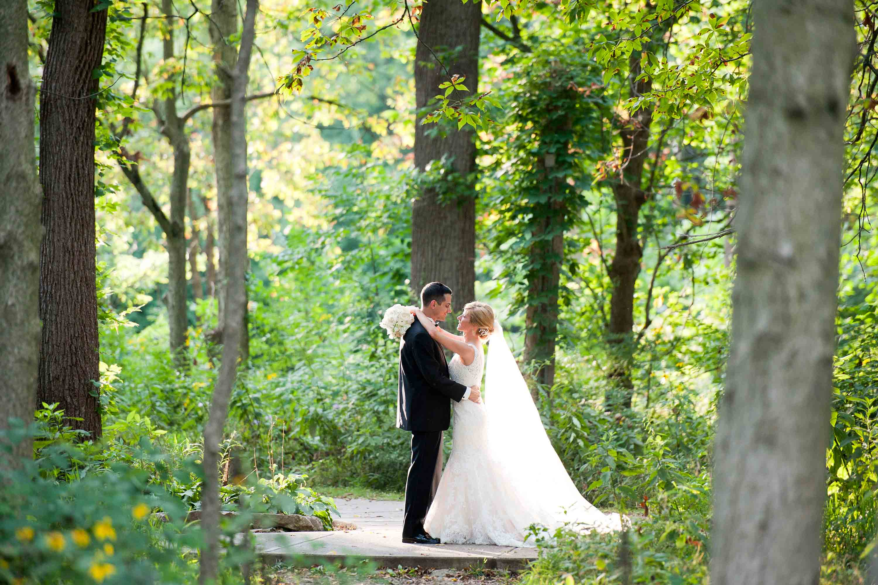 Newlyweds on Creek Walk